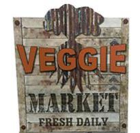 Coroplast – Market Sign – Veggie
