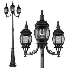 Trio-Street-Lamp-Posts