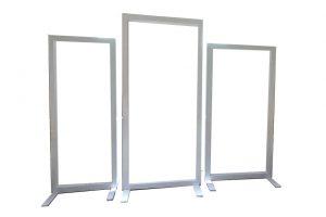 White-Frame-Backdrop-Set