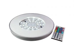 10 Inch MCRC LED Puck with Remote