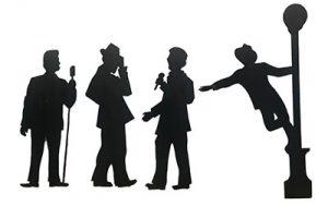 Crooner Silhouette – Set of 5
