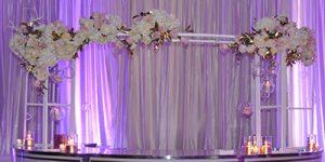 Curved Bar Floral Frame 2