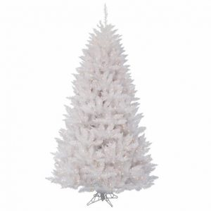Crystal White Spruce 9.5′ Christmas Tree -2