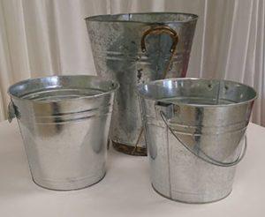 Metal Bucket Assorted -2
