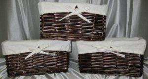 Woven Baskets – Rectangular