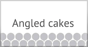 angled caked
