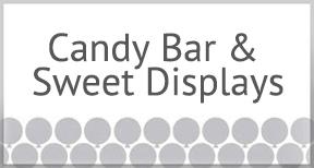 Candy Bar & Sweet Displays