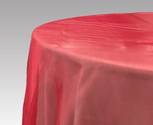 Overlay – Red Organza