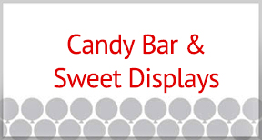 Candy Bar & Sweet Displays