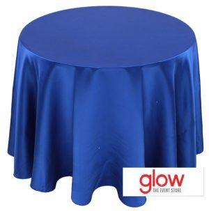 Round – Matte Satin – Royal Blue