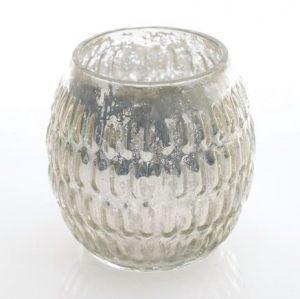 Silver Votive Mercury
