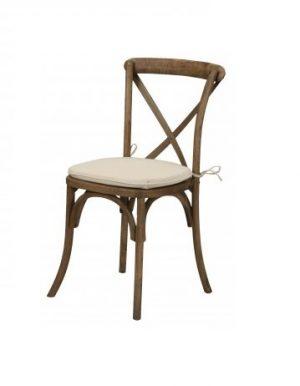 Cross Back Chair – 2