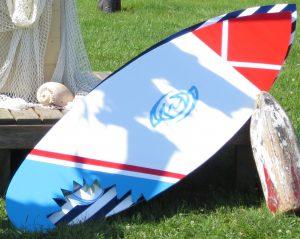 Coroplast – Shark Bite Surfboard
