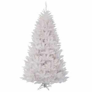 Crystal White Spruce 5.5′ Christmas Tree with Lights